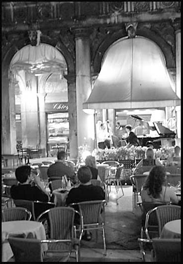 Live jazz in Piazza San Marco,