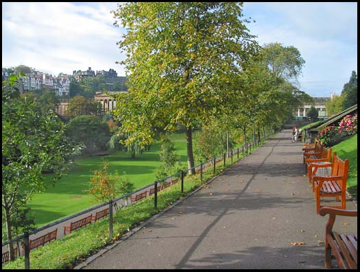 Princes St. Gardens, Edinburgh